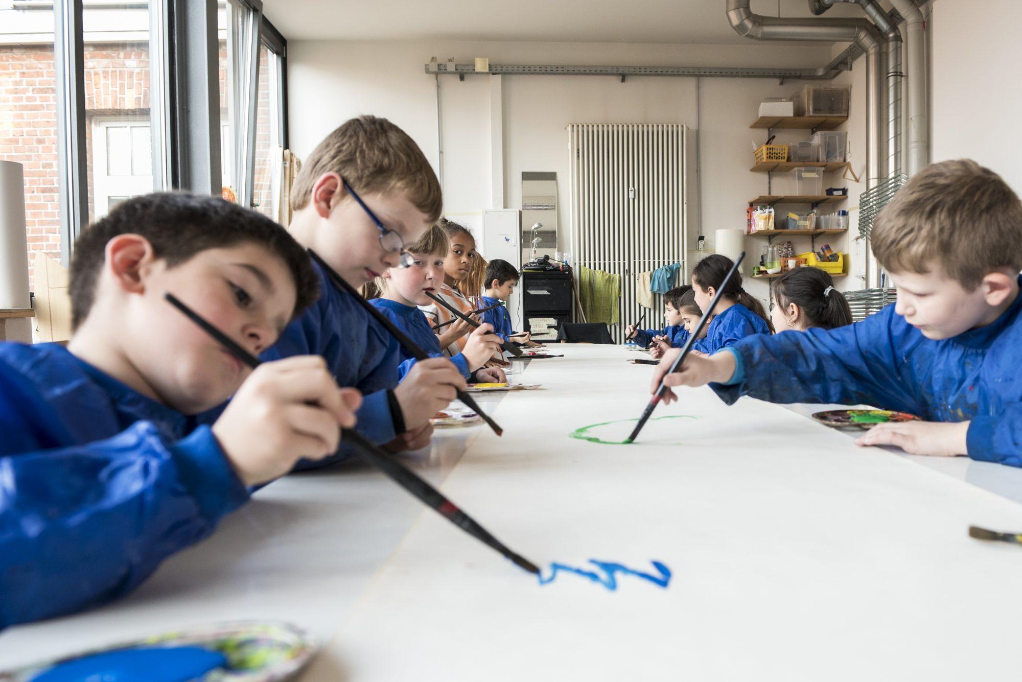 Roter Hahn Kunst kinderatelier roter hahn kultur vor ort bremen gröpelingen