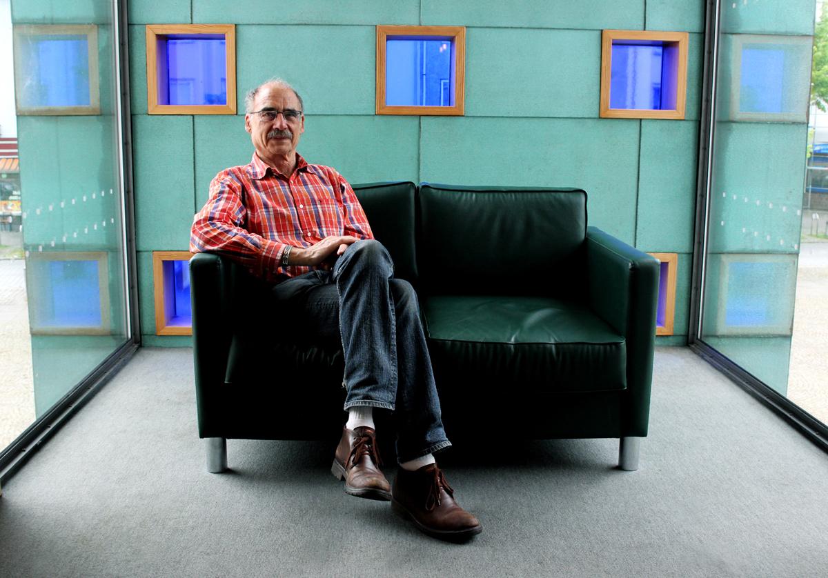 Erwin Weide auf dem Grünen Sofa