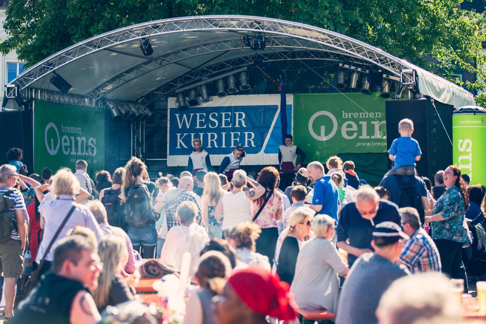 Gröpelinger Sommer am 05./06.08.2017 - Kultur Vor Ort Bremen Gröpelingen