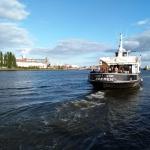 Schiff ahoi! Pusdorf auf dem Weg zum Pier 2