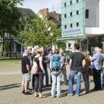 Bremens Wilder Westen, Gröpelinger Bibliotheksplatz © Frank Scheffka