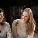 Sofisticated Ladies: Agata Ciurkot (Klavier) und Charléne Thomas (Gesang) 2015