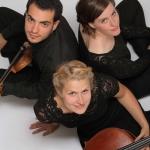 Torhauskonzert mit dem © Trio Axis: Gabriele Mele (Violine) Ann-Kathrin Eisold (Violoncello) Lydia Hammerbacher (Klavier) 2016