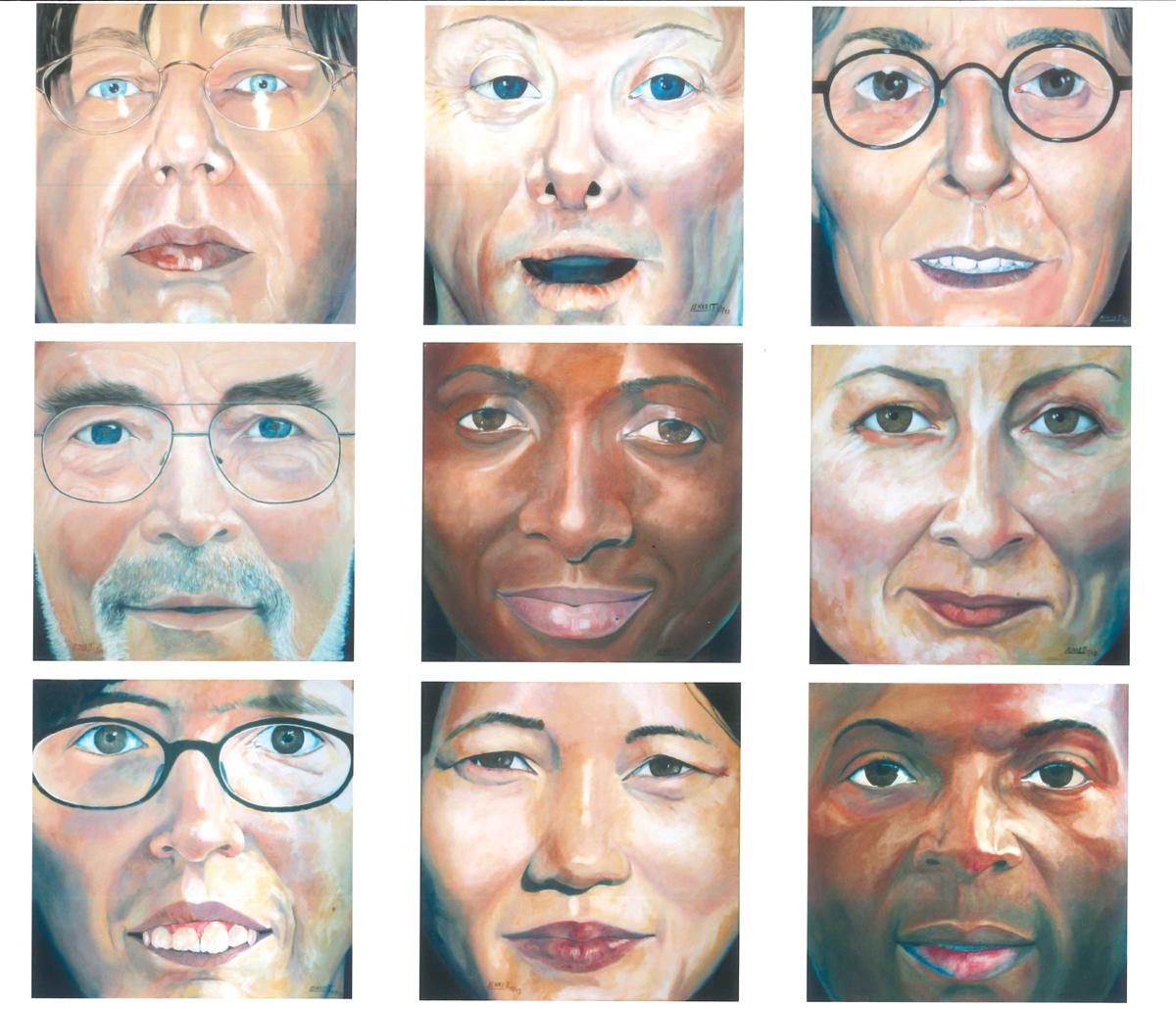 Doris Lenkeit: Faces