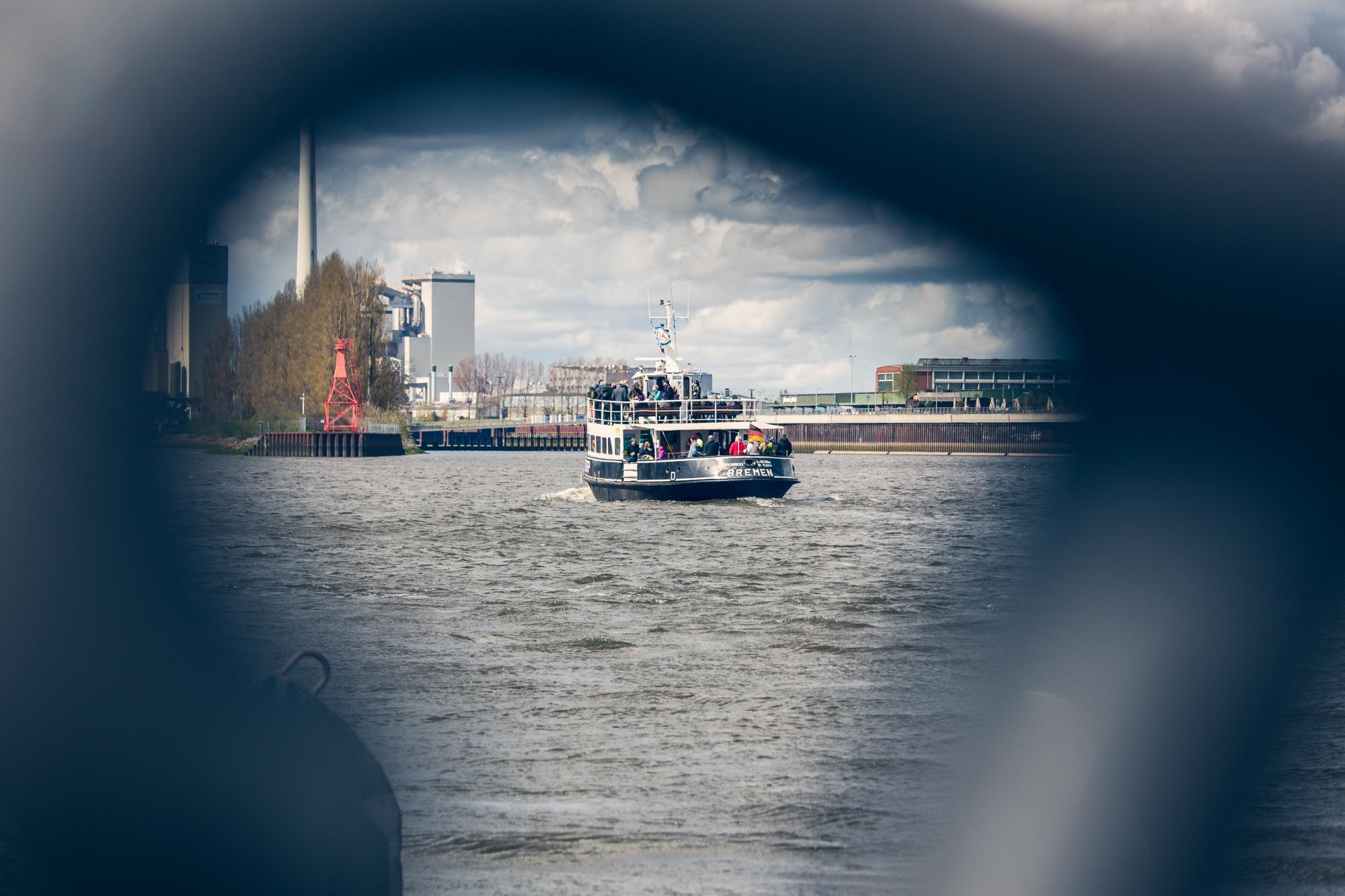 Saisonale Weserfähre Bremen