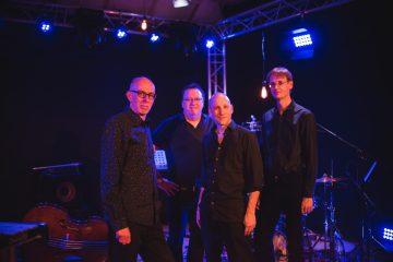 Blue Note Bach (vlnr): Jens Schöwing (p), Christian Frank (db), Matthias Entrup (vib), Marc Prieztel (dr) | Foto: Yannick Mayntz