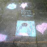 Kunst-to-go-Aktion Mobiles Atelier