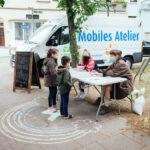 Mobiles Atelier auf dem Liegnitzplatz