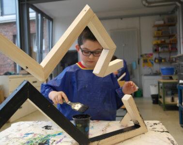 I like to Move it Ausstellung des kinderatelier Roter Hahn im Gerhard-Marcks-Haus