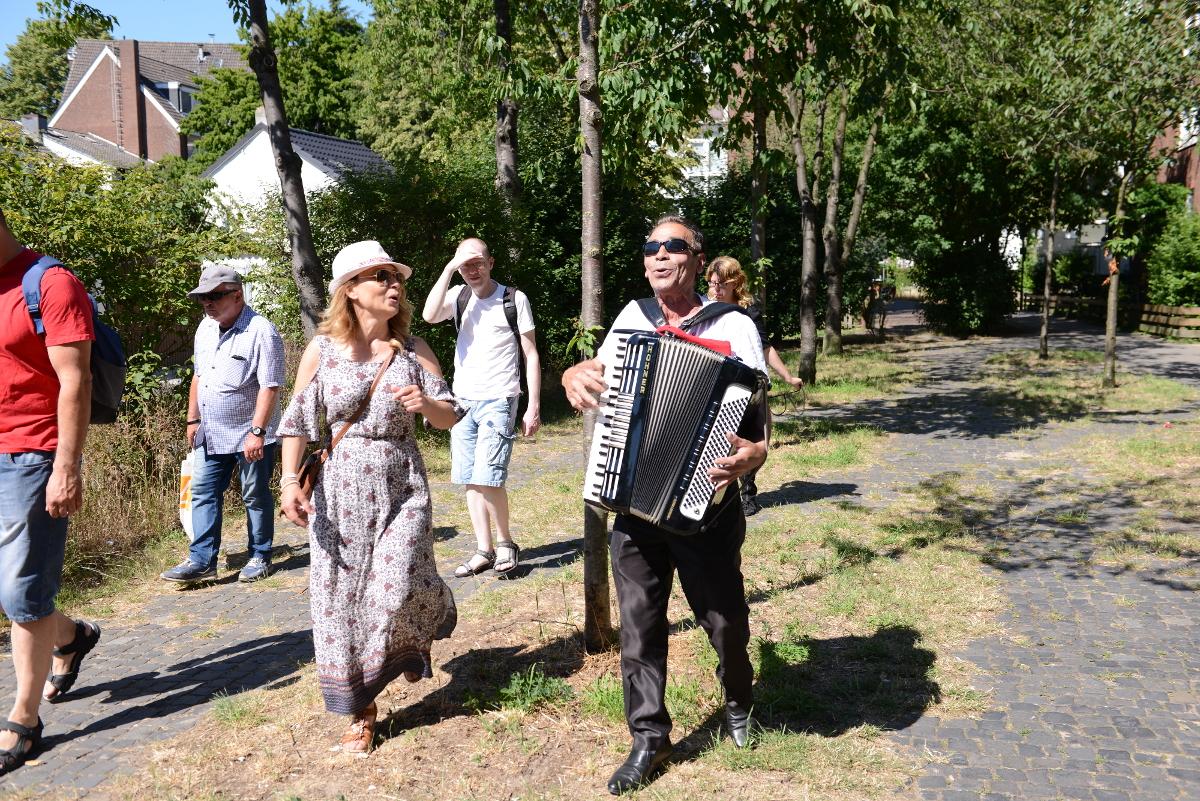 Klänge und Gänge - Singen im Liegnitzquartier