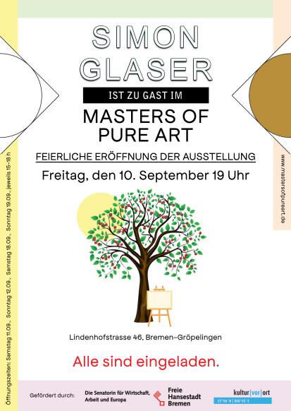 Simon Glaser ist zu Gast im Masters Of Pure Art