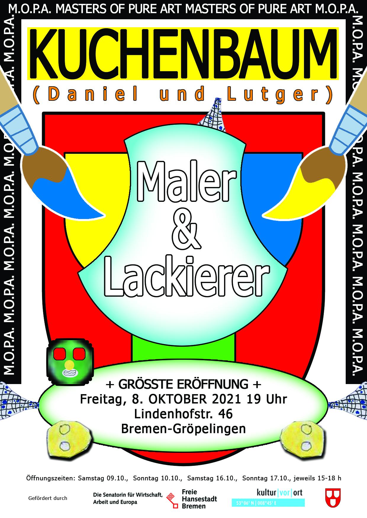 Eröffnung: Maler & Lackierer von KUCHENBAUM